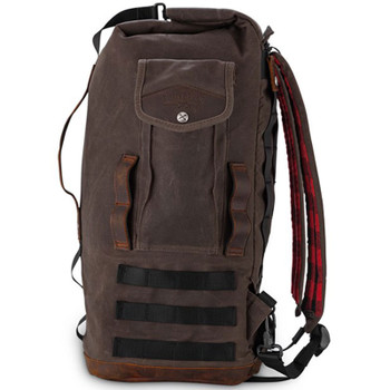 Burly Voyager Sissy Bar Bag - Brown