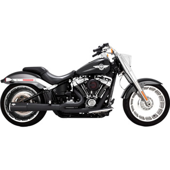 Vance & Hines Pro Pipe Exhaust for 2018-2019 Harley Fat Boy and Breakout - Black
