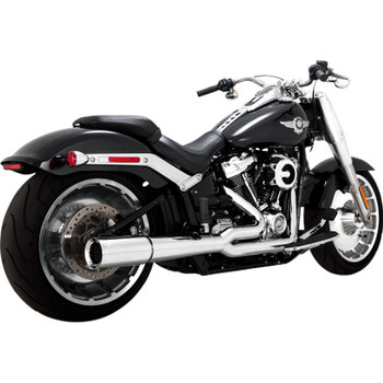 Vance & Hines Pro Pipe Exhaust for 2018-2019 Harley Fat Boy and Breakout - Chrome