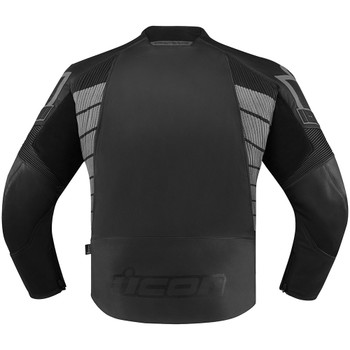 Icon Hypersport 2 Leather/Textile Jacket - Black