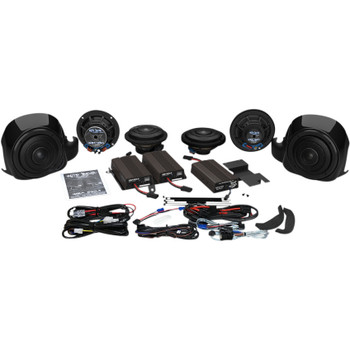 Wild Boar Whole Hog 900 Watt Amp/Speaker Kit for 2014-2019 Harley Touring