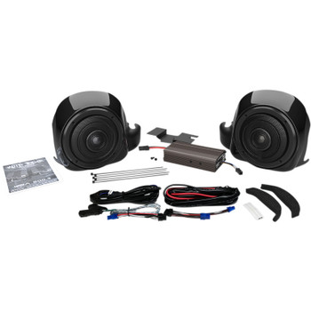 Wild Boar Lower Speaker Amp Kit for 2014-2019 Harley FLHTK