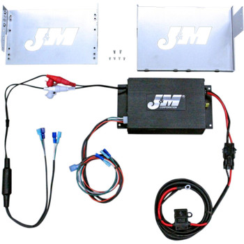 J & M Performance Series 200W Audio Kit for 2006-2013 Harley Touring