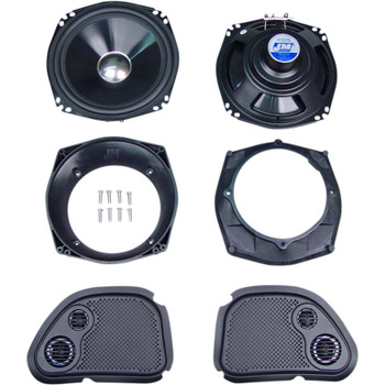 J & M Performance Series 200W Audio Kit for 2006-2013 Harley Road Glide