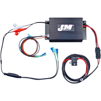 J & M Performance Series 200W Amp Kit for 1998-2013 Harley Touring