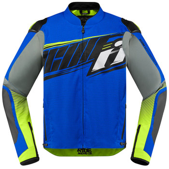 Icon Overlord SB2 Prime Jacket - Blue