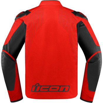 Icon Overlord SB2 Prime Jacket - Red