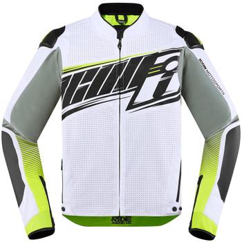 Icon Overlord SB2 Prime Jacket - White