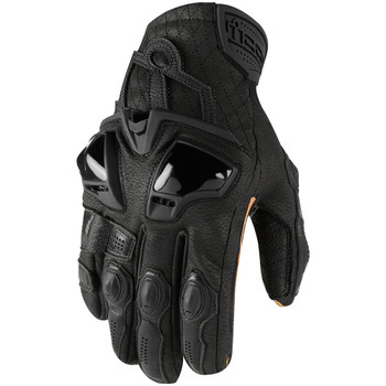 Icon Hypersport Short Gloves - Black