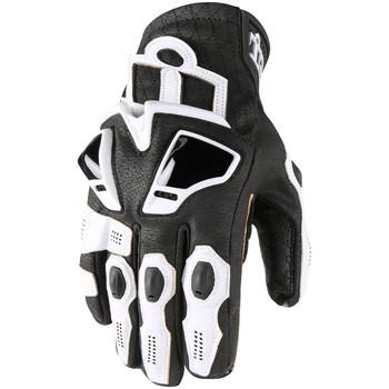 Icon Hypersport Short Gloves - White