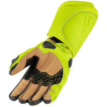Icon Hypersport GP Gloves - Hi-Viz