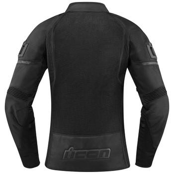 Icon Contra 2 Women's Textile Jacket - Stealth Black