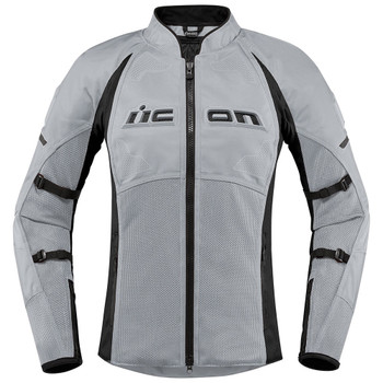 Icon Contra 2 Women's Textile Jacket - Grey
