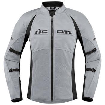 Icon Contra 2 Women's Textile Jacket - Grey