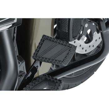 Kuryakyn Riot Brake Pedal Cover for Harley FL - Satin Black