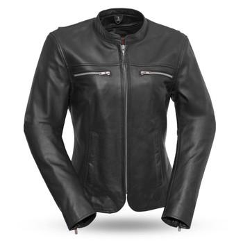 First Mfg. Roxy Women's Leather Jacket