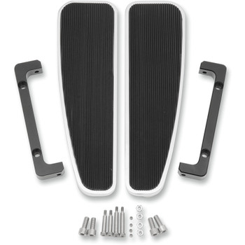 LA Choppers Adjustable FL Rider Longboards Floorboards for Harley - Solid