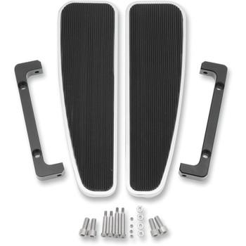 LA Choppers Adjustable FL Rider Longboards Floorboards for Harley - Solid