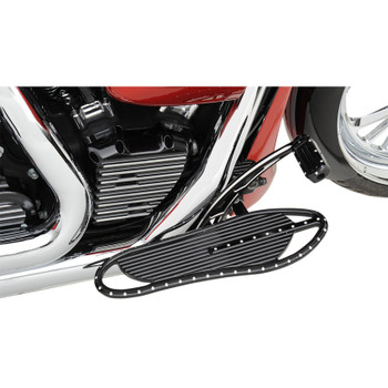Covingtons Driver Floorboards for Harley - Black