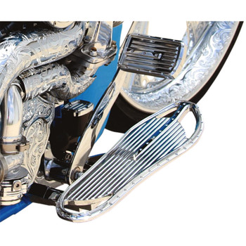 Covingtons Driver Floorboards for Harley - Chrome