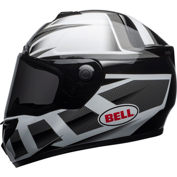 Bell SRT Helmet - Predator Gloss White/Black