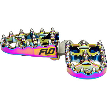Flo Motorsports Moto Style Foot Pegs for Harley - Jet Fuel