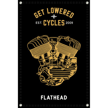 Get Lowered Cycles Harley Flathead Shop Banner