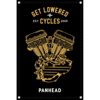 Get Lowered Cycles Harley Panhead Shop Banner