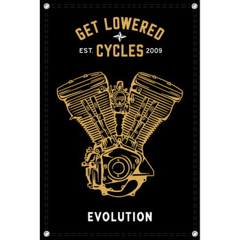 Get Lowered Cycles Harley Evolution Shop Banner