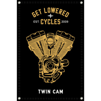 Get Lowered Cycles Harley Twin Cam Shop Banner
