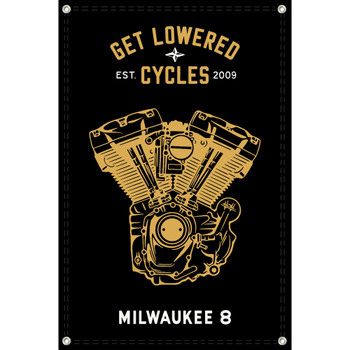 Get Lowered Cycles Harley Milwaukee 8 Shop Banner