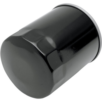 Drag Specialties Spin-On Oil Filter for Harley Evo and Sportster - Black