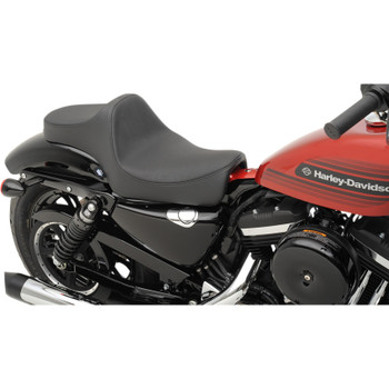 Drag Specialties Predator III Seat for 2004-2019 Harley Sportster - Smooth