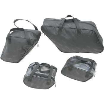 Saddlemen Saddlebag Packing Cube Liner Set for 2012-16 Harley Switchback FLD Hard Saddlebags