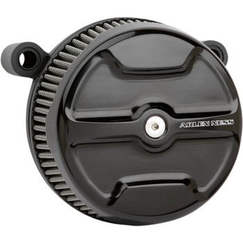 Arlen Ness Knuckle Big Sucker Air Cleaner Kit for 2017-2020 Harley M8 - Black
