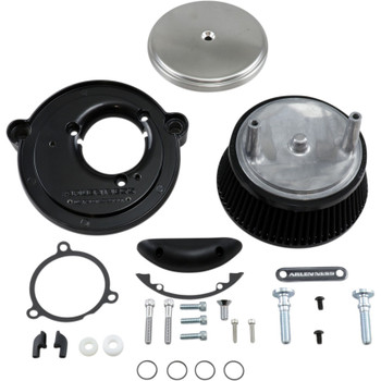 Arlen Ness Big Sucker Air Cleaner Kit for 2017-2019 Harley M8 - Brushed Stainless