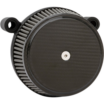 Arlen Ness Big Sucker Air Cleaner Kit for 2017-2019 Harley M8 - Carbon Fiber