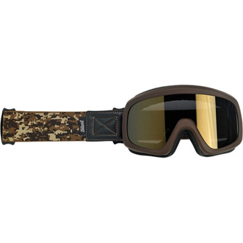 Biltwell Overland 2.0 Grunt Goggle - Brown Desert Camo