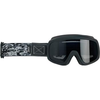 Biltwell Overland 2.0 Grunt Goggle - Black Camo