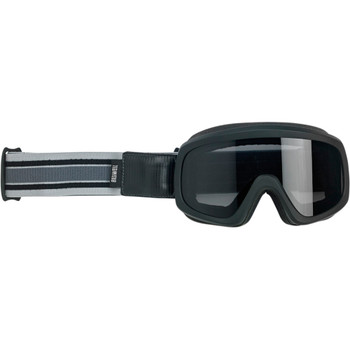 Biltwell Overland 2.0 Racer Goggle - Gray/Black