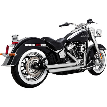 Harley Softail Milwaukee 8 Exhaust - Get Lowered Cycles