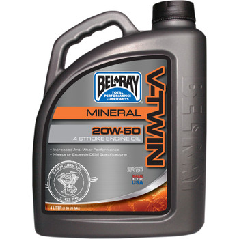 Bel-Ray V-Twin 20W50 Motor Oil - 4 Liter
