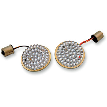 Drag Specialties 1156 LED Bulbs for Harley - Bullet-Style