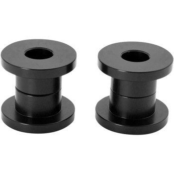 "Speed Merchant 1"" Solid Riser Bushings for 2018-Up Harley* - Black"