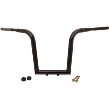 "LA Choppers 1-1/2"" Tree Hugger 13"" Handlebars for Harley - Gloss Black"
