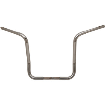"""Fat Baggers 1-1/4"""" EZ Install Round Top 16"""" Handlebars for 1986-2019 Harley Touring - Chrome"""