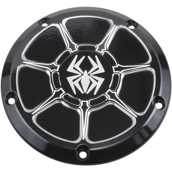 Rekluse Derby Cover for 1999-2018 Harley Big Twin - Gloss Black