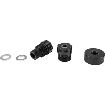 Patriot Suspension 39mm Preload Adjusters for Harley - Black