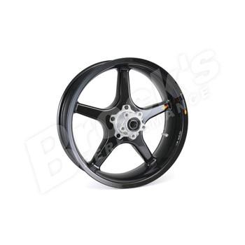 "BST 17"" x 5.5"" Black Star Carbon Fiber Rear Wheel for 2018-2019 Harley Fat Bob"