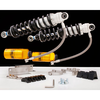 "Ohlins HD 357 Twin 13"" Shocks for 1990-2013 Harley Touring"
